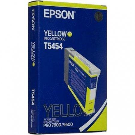 Epson T545400 (T5454) Photographic Dye Ink Cartridge, Yellow, OEM