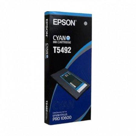 Epson T549200 500ml Ink Cartridge, Cyan, OEM