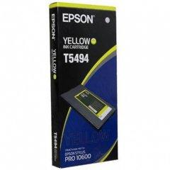 Epson T549400 500ml Ink Cartridge, Yellow, OEM