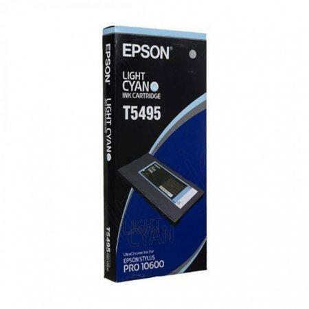 Epson T549500 500ml Ink Cartridge, Light Cyan, OEM