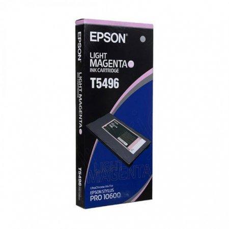 Epson T549600 500ml Ink Cartridge, Light Magenta, OEM