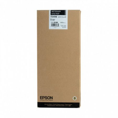 Epson T549800 500ml Ink Cartridge, Matte Black, OEM