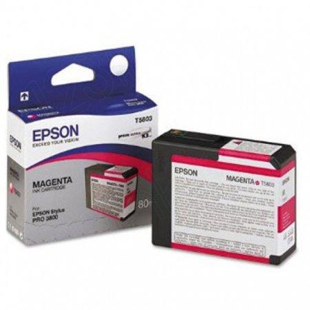 Epson T580300 (T5803) Ink Cartridge, Magenta, OEM