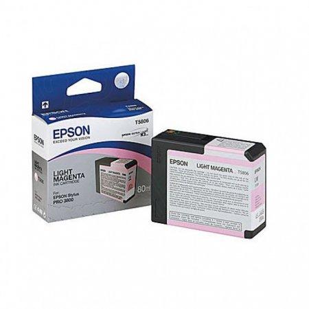 Epson T580600 Ink Cartridge, Light Magenta, OEM