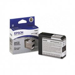 Epson T580800 Ink Cartridge, Matte Black, OEM