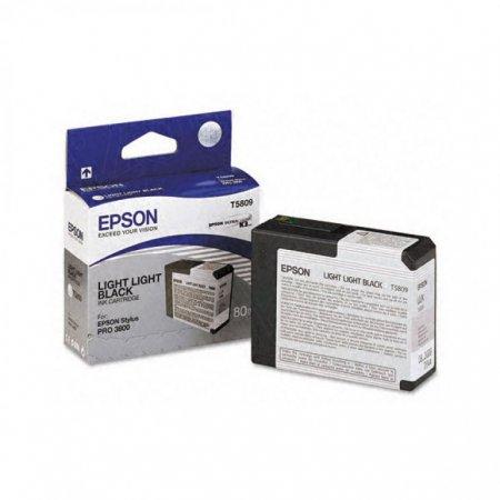 Epson T580900 Ink Cartridge, Light Light Black, OEM