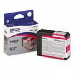 Epson T580A00 Ink Cartridge, Magenta, OEM