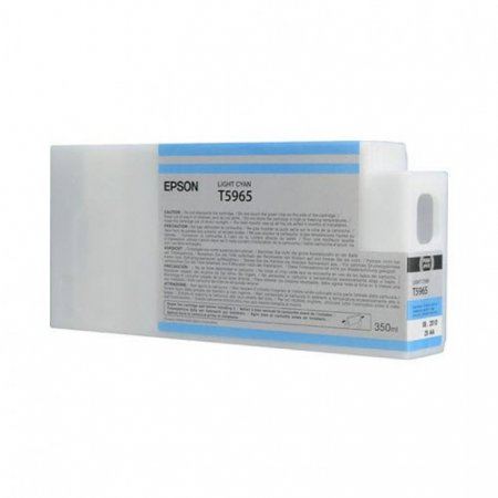Epson T596500 350 ml Ink Cartridge, Light Cyan, OEM