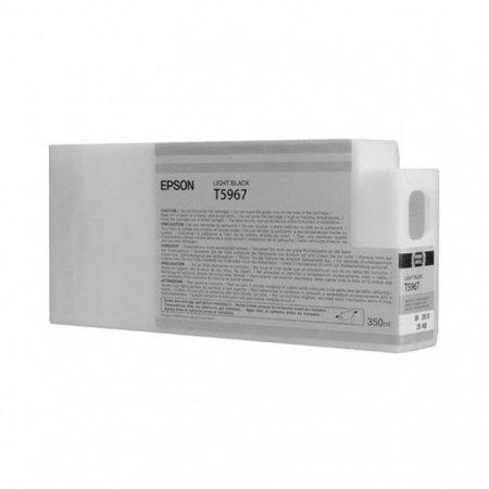 Epson T596700 350 ml Ink Cartridge, Light Black, OEM