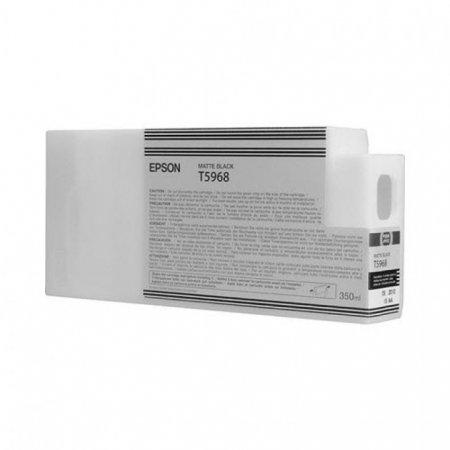 Epson T596800 350 ml Ink Cartridge, Matte Black, OEM