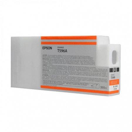 Epson T596A00 350 ml Ink Cartridge, Orange, OEM