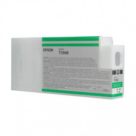 Epson T596B00 350 ml Ink Cartridge, Green, OEM
