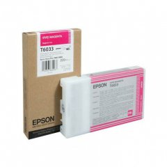 Epson T603300 220ml Ink Cartridge, Vivid Magenta, OEM