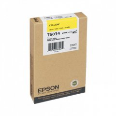 Epson T603400 220ml Ink Cartridge, Yellow, OEM