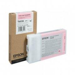 Epson T603600 220ml Ink Cartridge, Vivid Light Magenta, OEM
