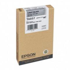 Epson T603700 220ml Ink Cartridge, Light Black, OEM