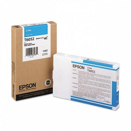 Epson T605200 Ink Cartridge, Cyan, OEM