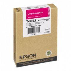 Epson T605300 Ink Cartridge, Vivid Magenta, OEM
