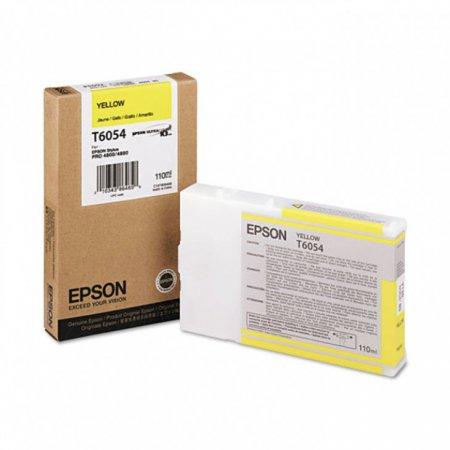 Epson T605400 Ink Cartridge, Yellow, OEM