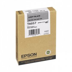 Epson T605700 Ink Cartridge, Light Black, OEM