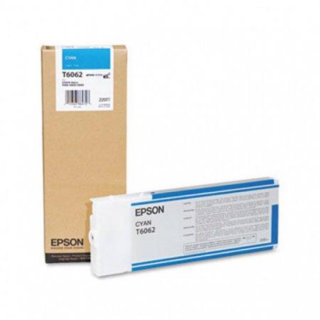 Epson T606200 Ink Cartridge, Cyan, OEM