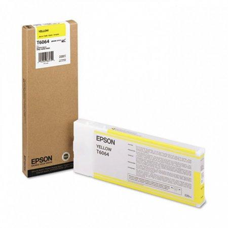 Epson T606400 Ink Cartridge, Yellow, OEM