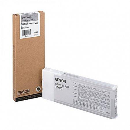 Epson T606700 Ink Cartridge, Light Black, OEM