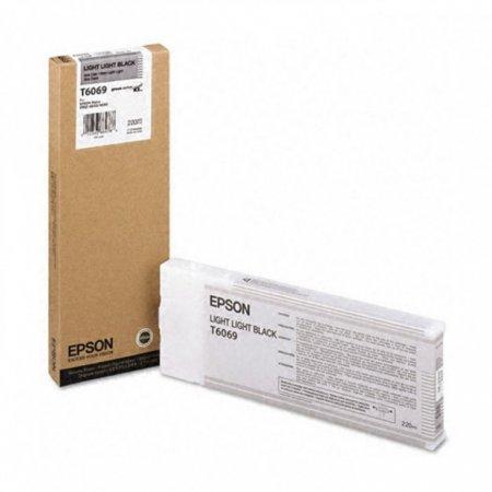 Epson T606900 Ink Cartridge, Light Light Black, OEM