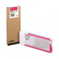 Epson T606B00 220 ml Ink Cartridge, Magenta, OEM