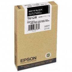 Epson T612800 (T6128) Ink Cartridge, Matte Black, OEM