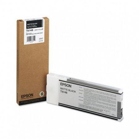 Epson T614800 220 ml Ink Cartridge, Matte Black, OEM