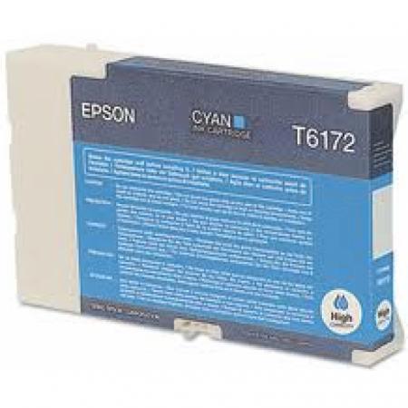 Epson T617200 (T6172) Ink Cartridge, High Yield Cyan , OEM