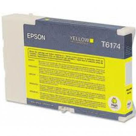 Epson T617400 (T6174) Ink Cartridge, High Yield Yellow , OEM