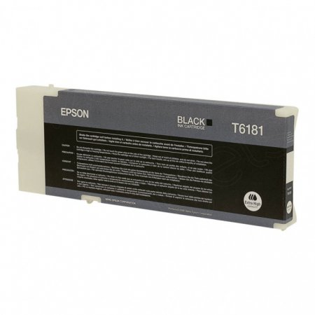 Epson T618100 (T6181) Ink Cartridge, Extra High Yield Black , OEM