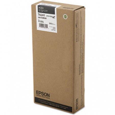 Epson T624100 950ml Ink Cartridge, Black, OEM