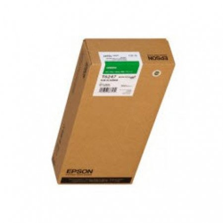 Epson T624700 950ml Ink Cartridge, Green , OEM