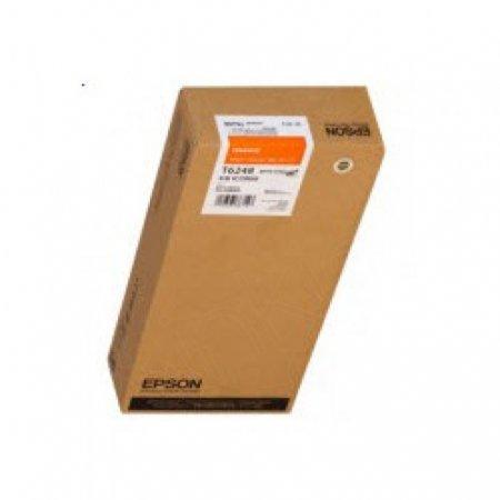 Epson T624800 950ml Ink Cartridge, Orange, OEM