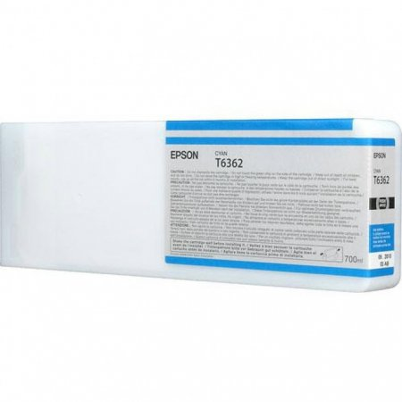 Epson T636200 Ink Cartridge, Cyan, OEM