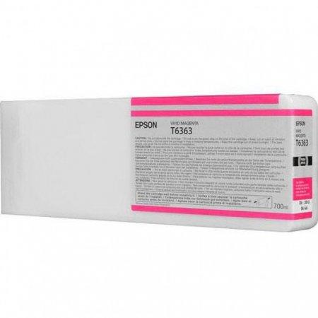 Epson T636300 Ink Cartridge, Magenta, OEM