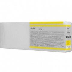 Epson T636400 Ink Cartridge, Yellow, OEM