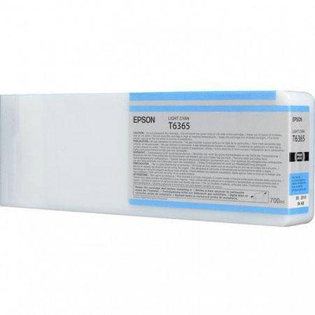 Epson T636500 Ink Cartridge, Light Cyan, OEM