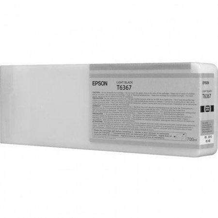 Epson T636700 Ink Cartridge, Light Black, OEM