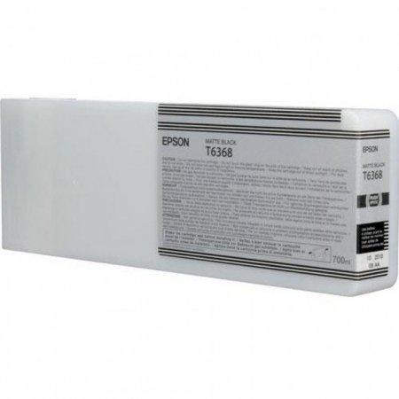 Epson T636800 Ink Cartridge, Matte Black, OEM