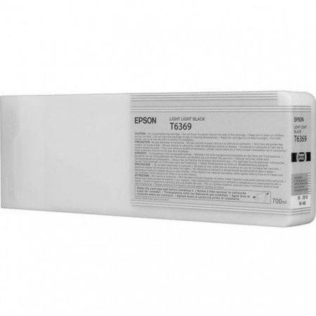 Epson T636900 Ink Cartridge, Light Light Black, OEM