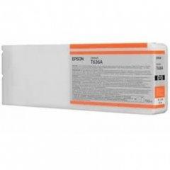 Epson T636A00 Ink Cartridge, Orange, OEM