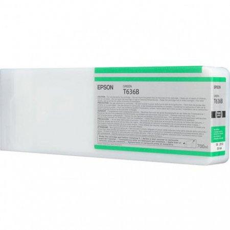 Epson T636B00 Ink Cartridge, Green, OEM