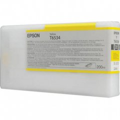 Epson T6534 Yellow Ink Cartridge