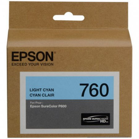 Epson Original T760520 Light Cyan Ink