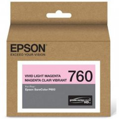 Epson Original T760620 Light Magenta Ink