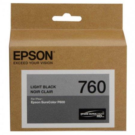 Epson Original T760720 Light Black Ink